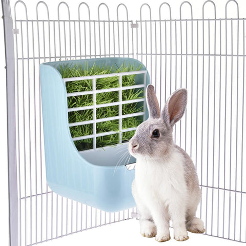 Best Rabbit Cage Hay Feeder Shelf - Bunny Supply Co.