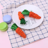 Flip Carrot Chew Toys - 3 pack - Bunny Supply Co.