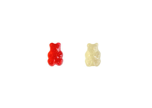 Strawberry-Pineapple Gummy Bear Duo