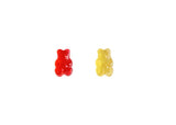 Strawberry-Mango Gummy Bear Duo