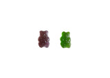 Grape-Apple Gummy Bear Duo