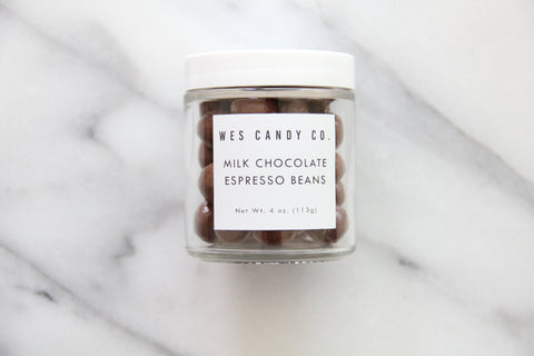Milk Chocolate Covered Espresso Beans (4oz.)