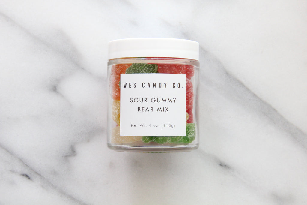 Sour Gummy Bear Mix (4oz.)