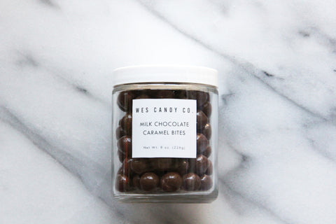 Milk Chocolate Covered Caramel Bites (8oz.)