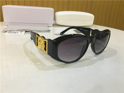Gianni Versace 424 Black Gold Sunglasses - top quality swiss movement knockoff replica designer watches from rolex, migos iced out philippe patek , AP, hublot and bust down iced out diamond jewelry
