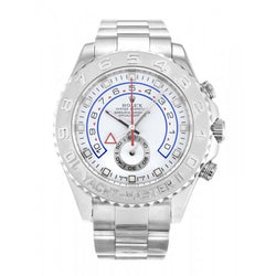 Replica all white Rolex Yacht-Master II 116689-44 MM - top quality swiss movement knockoff replica designer watches from rolex, migos iced out philippe patek , AP, hublot and bust down iced out diamond jewelry