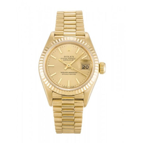 Replica female ladies Rolex Datejust  69178-26 MM - top quality swiss movement knockoff replica designer watches from rolex, migos iced out philippe patek , AP, hublot and bust down iced out diamond jewelry