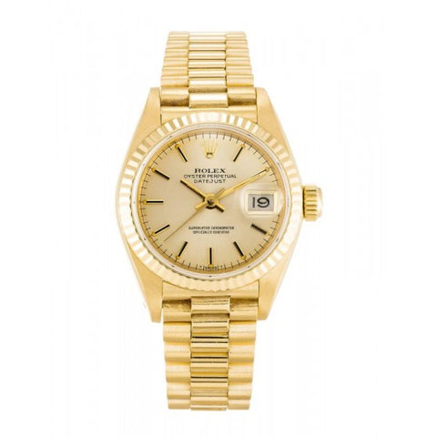 Replica WOMEN / LADIES Rolex Datejust Lady 69178-26 MM with rolex box - top quality swiss movement knockoff replica designer watches from rolex, migos iced out philippe patek , AP, hublot and bust down iced out diamond jewelry