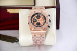 Replica Audemars Piguet Royal Oak Offshore Rose Gold Gold Dial Swiss movement watch - top quality swiss movement knockoff replica designer watches from rolex, migos iced out philippe patek , AP, hublot and bust down iced out diamond jewelry