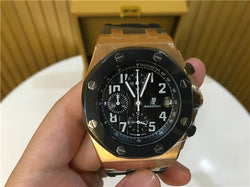 Replica Audemars Piguet Royal Oak Offshore Rose Gold Swiss movement watch - top quality swiss movement knockoff replica designer watches from rolex, migos iced out philippe patek , AP, hublot and bust down iced out diamond jewelry