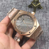 REPLICA Audemars Piguet Royal Oak 43mm Gold Watch swiss movement - top quality swiss movement knockoff replica designer watches from rolex, migos iced out philippe patek , AP, hublot and bust down iced out diamond jewelry
