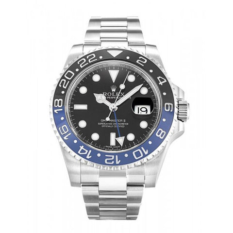 Replica Rolex GMT Master II 116710 BLNR-40 MM AKA BATMAN - top quality swiss movement knockoff replica designer watches from rolex, migos iced out philippe patek , AP, hublot and bust down iced out diamond jewelry