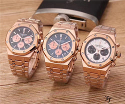 Replica Audemars Piguet Royal Oak three bottom chronograph swiss movement watch - top quality swiss movement knockoff replica designer watches from rolex, migos iced out philippe patek , AP, hublot and bust down iced out diamond jewelry