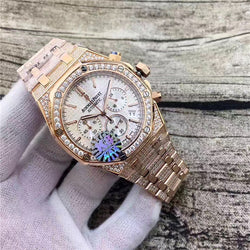 AUDEMARS PIGUET ROYAL OAK OFFSHORE CHRONOGRAPH ICED OUT GOLD DIAMOND REPLICA WATCH - top quality swiss movement knockoff replica designer watches from rolex, migos iced out philippe patek , AP, hublot and bust down iced out diamond jewelry