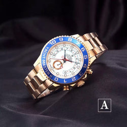 Replica Rolex Yacht-Master II Different styles Swiss movement watch 7750 - top quality swiss movement knockoff replica designer watches from rolex, migos iced out philippe patek , AP, hublot and bust down iced out diamond jewelry
