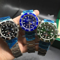 Replica Rolex Submariner Date Stainless Steel different dial color Swiss watch - top quality swiss movement knockoff replica designer watches from rolex, migos iced out philippe patek , AP, hublot and bust down iced out diamond jewelry