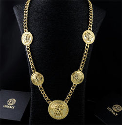 gold versace medusa necklace - top quality swiss movement knockoff replica designer watches from rolex, migos iced out philippe patek , AP, hublot and bust down iced out diamond jewelry