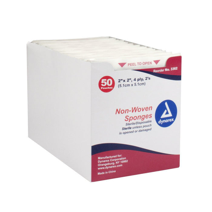 Gauze Sponges, Non-Woven Sponges & Cotton Rolls