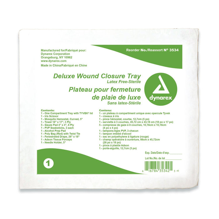 Wound Closure Tray
