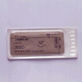 ETHICON SURGICAL GUT SUTURE - CHROMIC