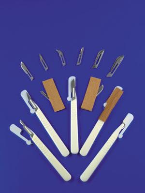 EXEL DISPOSABLE SCALPELS