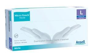 ANSELL MICRO-TOUCH® NITRILE POWDER-FREE SYNTHETIC MEDICAL EXAMINATION GLOVES