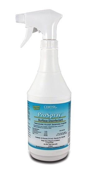 CERTOL PROSPRAY™ SURFACE CLEANER/DISINFECTANT