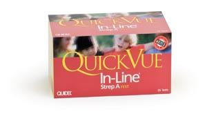 QUIDEL QUICKVUE® IN-LINE® STREP A KIT