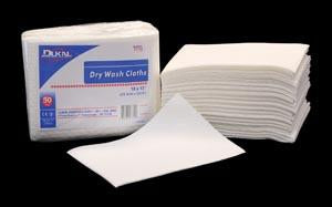 DUKAL DRY WASH CLOTHS