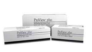 CERTOL PROVIEW® PLUS SELF SEAL STERILIZATION POUCHES