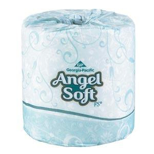GEORGIA-PACIFIC ANGEL SOFT PS® PREMIUM EMBOSSED BATHROOM TISSUE