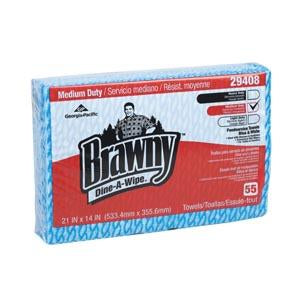 GEORGIA-PACIFIC BRAWNY DINE-A-WIPE™ FOODSERVICE QUARTERFOLD BUSING TOWELS