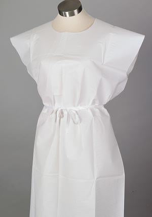 TIDI TISSUE POLY TISSUE PATIENT GOWN