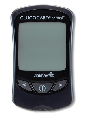 ARKRAY GLUCOCARD® VITAL™ BLOOD GLUCOSE MONITORING SYSTEM