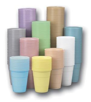 CROSSTEX PLASTIC CUPS