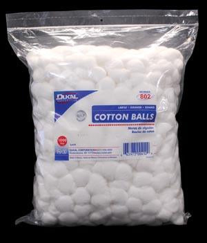 DUKAL COTTON BALLS