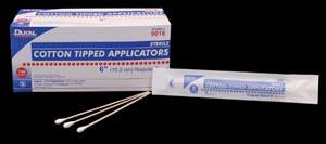 DUKAL COTTON TIPPED APPLICATORS