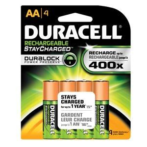 DURACELL® RECHARGEABLE BATTERY