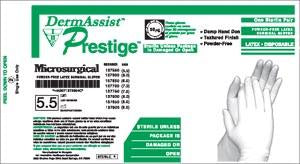 INNOVATIVE DERMASSIST® PRESTIGE® MICROSURGICAL POWDER-FREE SURGICAL GLOVES