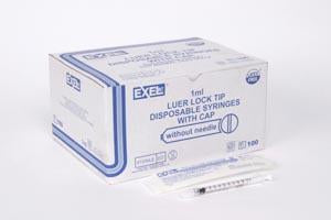 EXEL TB TUBERCULIN SYRINGES WITH LUER LOCK