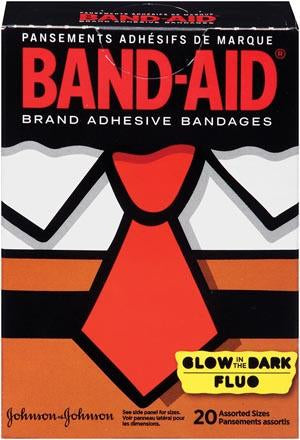 J&J BAND-AID® DECORATED™ ADHESIVE BANDAGES