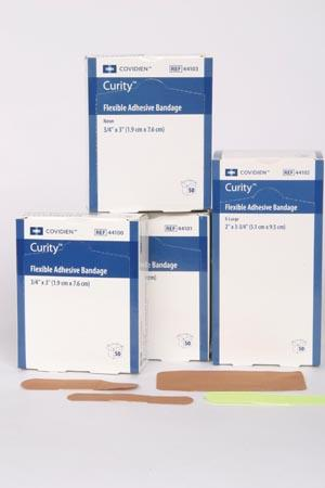 COVIDIEN/MEDICAL SUPPLIES CURITY™ FLEXIBLE FABRIC BANDAGES