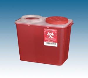 PLASTI BIG MOUTH SHARPS CONTAINERS