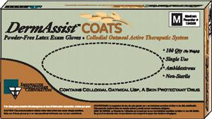 INNOVATIVE  Dermassist® COATS™  POWDER-FREE LATEX EXAM GLOVES