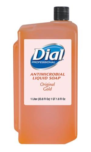 DIAL® GOLD ANTIMICROBIAL LIQUID HAND SOAP