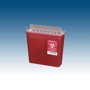 PLASTI WALL MOUNTED SHARPS DISPOSAL SYSTEM