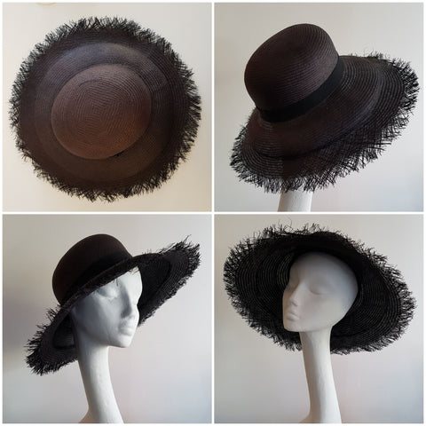Anél // Hat // Frayed Black