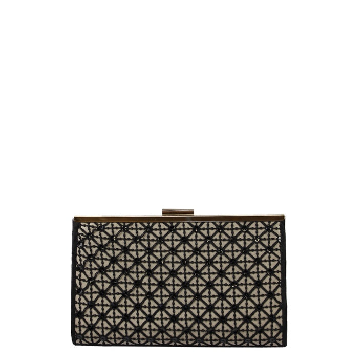 Jendi // Clutch // Black & Sequins