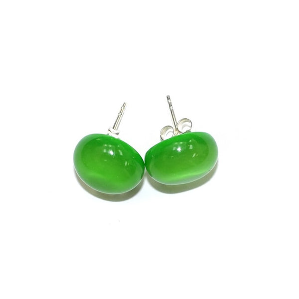 Zsiska // Earrings // Lime Green