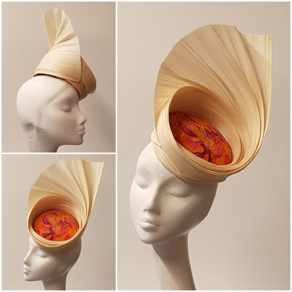 Anél // Headpiece // Orange Garden